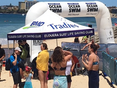 Sydney Australia Ocen Swin Inflatable Start arch