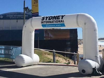 Sydney International  inflatable Start Arch
