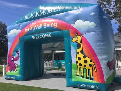 Blackmores Inflatable Arch Custom
