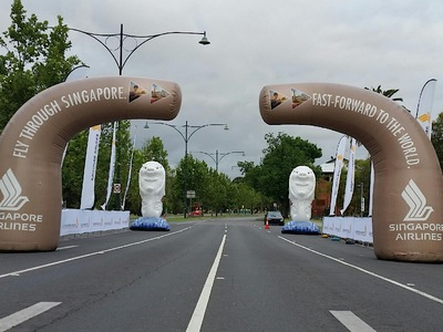 Inflatable Arches Singapore for Fun Run