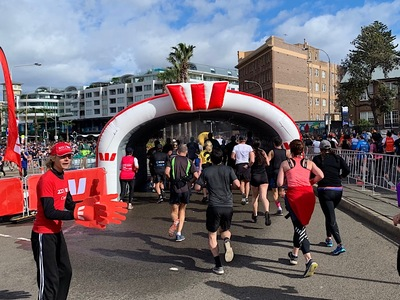 Sponsor Inflatable Misting Tunnel Bondi Beach