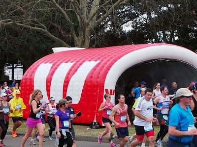Sponsor Inflatable Misting Tunnel
