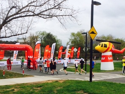 Sponsor Inflatables funrun course