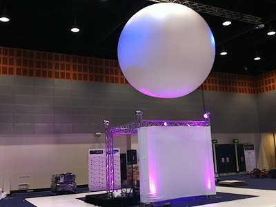 Exhibition Inflatable Sphere display
