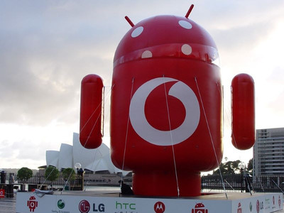 Android Inflatable Vodafone