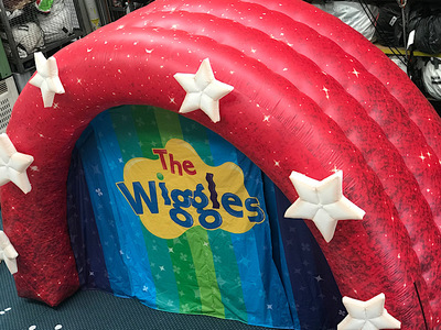 Inflatable Stage Entrance