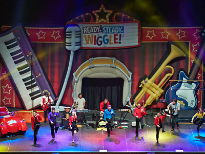 Ready Steady Wiggle Inflatable Stage set