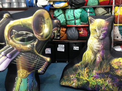 The Cat Empire inflatable Stage props