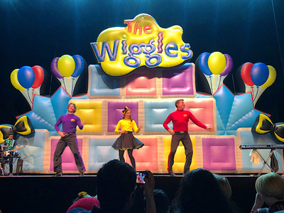 The Wiggle Inflatable Stage