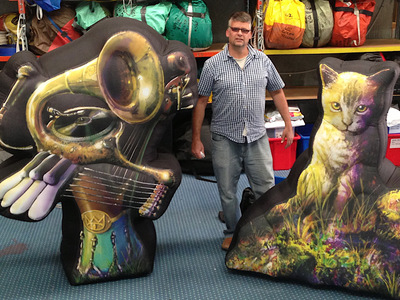Inflatable Stage Decorations Cat Empire