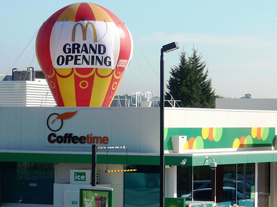 Fast Food Outlet GrandOpening Promotional Inflatable