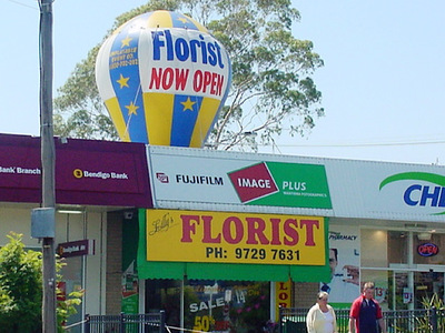 Florist Store Opening Promotion Stands out from the crowd